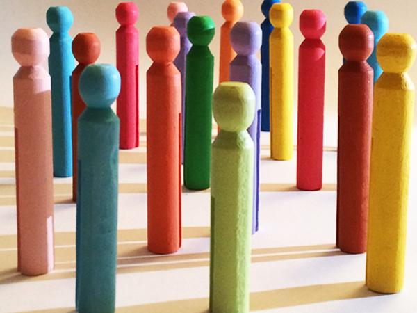 Rainbow people 1